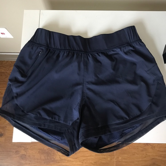 "a755e0487c2 lululemon athletica Pants - lululemon Two with One Navy Short (Reversible 3 "")"